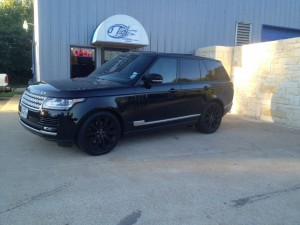 Range Rover supercharged makeover